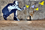 Fototapeta Teenage - Graffiti liberté