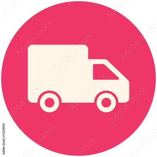 Fotografie, Obraz  Delivery icon