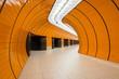 Leinwanddruck Bild - Marienplatz underground station in Munich, Germany