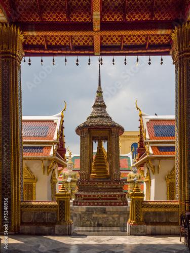 Photo  Wat pra kaew, Grand palace ,Bangkok.