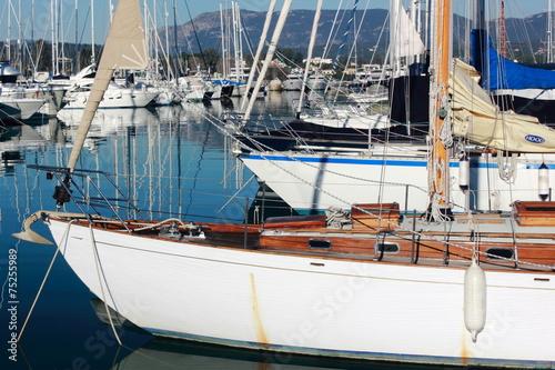 Foto op Plexiglas Water Motor sporten yacht