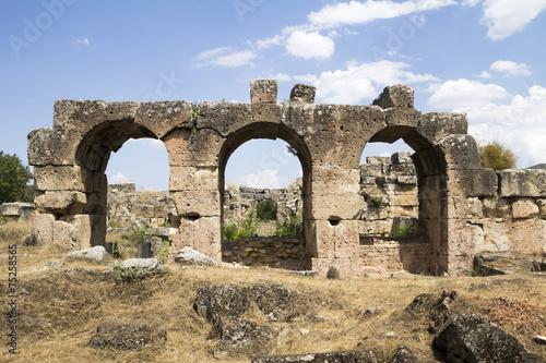 Poster Ruine Aphrodisias ruin in Turkey