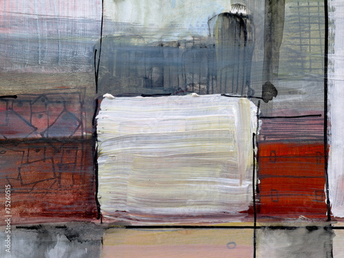 a detail from an abstract painting - 75260515