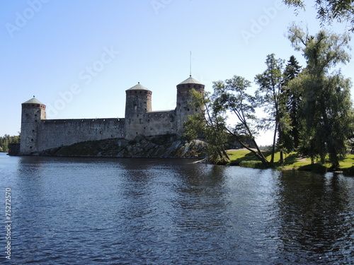 Olavinlinna Castle Poster
