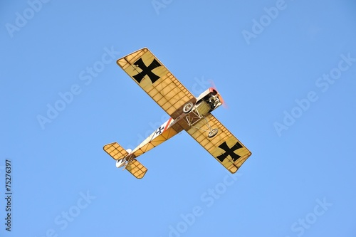 Photo Fokker aircraft in flight