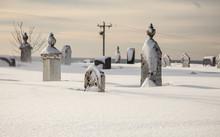 Graveyard In Winter