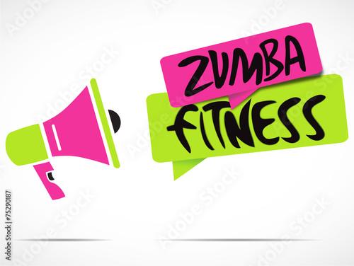 mégaphone : zumba fitness #75290187