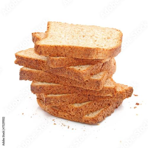 Tranches de pain de mie