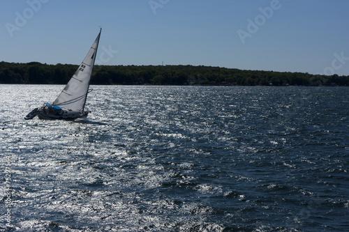 Staande foto Zeilen sailing