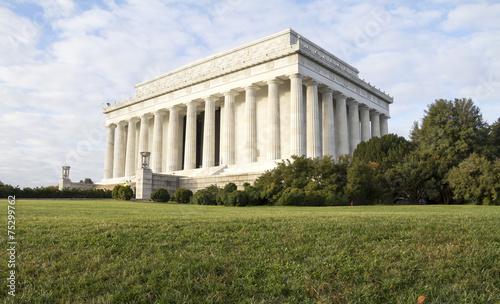 Fotografia  Abraham Lincoln Memorial in Washington DC USA