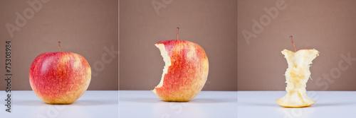 Fototapeta Apple triptych