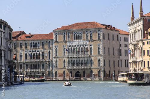 Staande foto Oost Europa historische Häuser am Canale Grande in Venedig