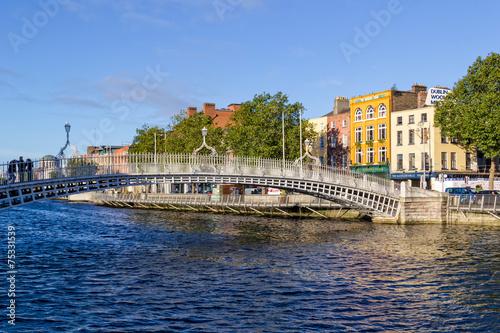 Photo  Ha'penny Bridge - Dublin