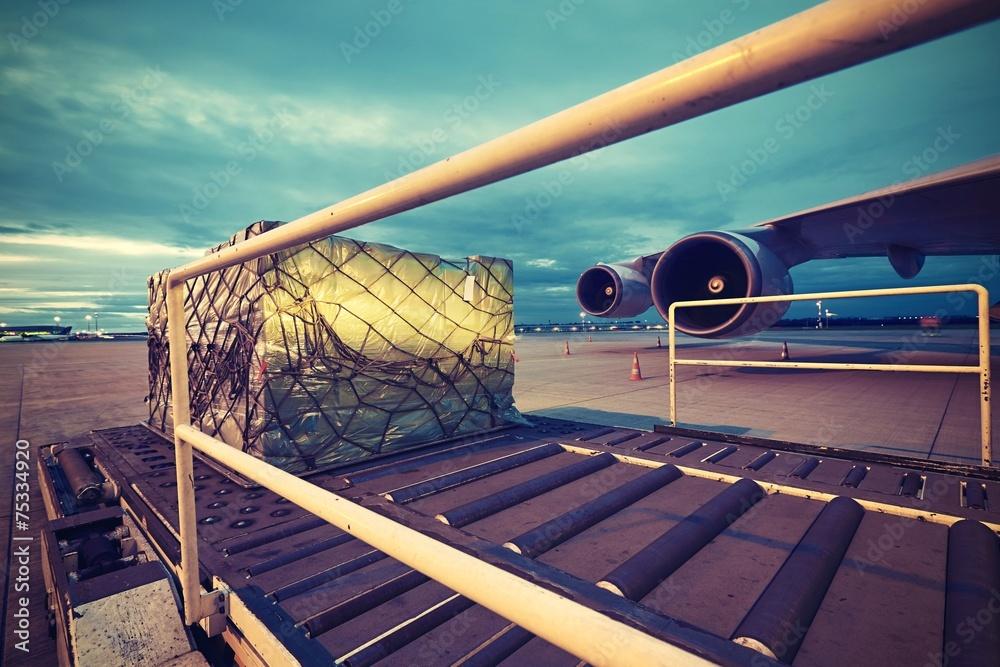 Fototapety, obrazy: Cargo airplane