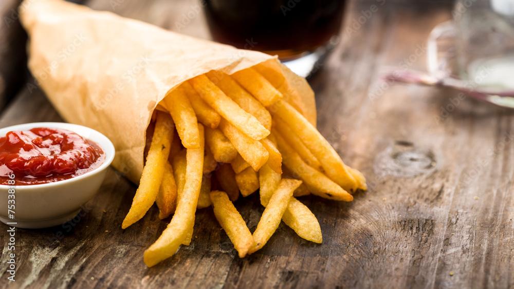 Fototapety, obrazy: Pommes Frites