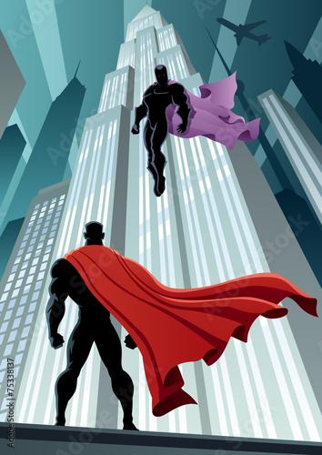 Fotografie, Obraz  Hero Versus Villain