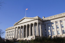 The Treasury Department In Washington DC