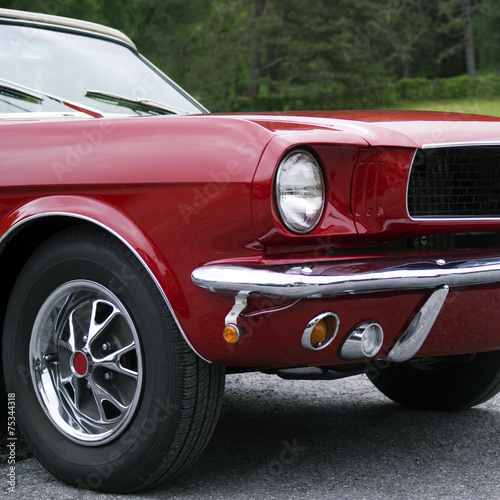 Photo  Ford Mustang car