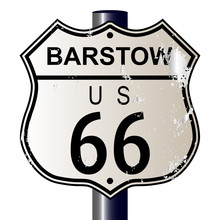 Barstow Route 66 Sign