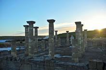 Ruins Of The Roman City Of Baelo Claudia, Tarifa, Spain