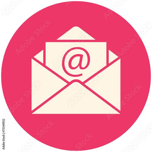 Fotografie, Obraz  Email icon