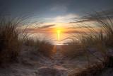 Fototapeta Fototapety z morzem - Coucher de soleil sur l'océan atlantique