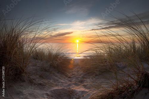 Foto auf Acrylglas Bestsellers Coucher de soleil sur l'océan atlantique