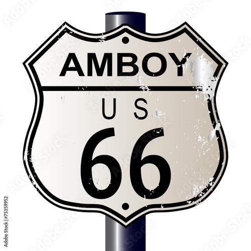 Papiers peints Route 66 Amboy Route 66 Sign