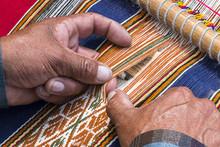 Weaver Peru Weaving