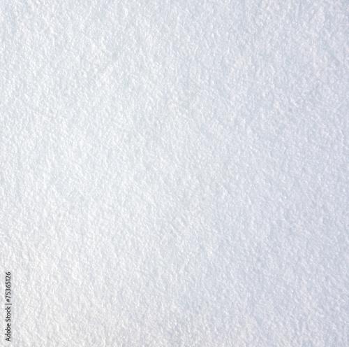 Fotobehang Stof fresh snow
