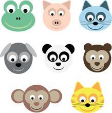 Set Faccie Animali