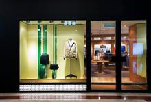 Fashion Clothes Shop Storefront