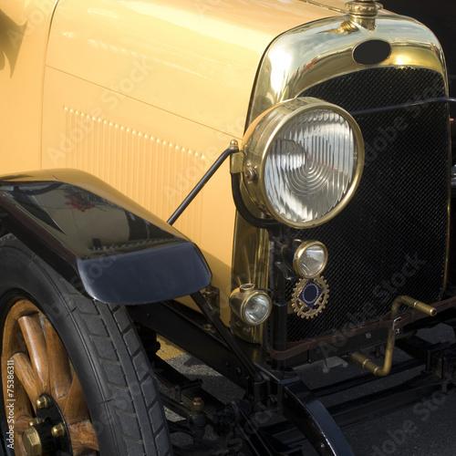 Keuken foto achterwand Vintage cars Close up of vintage car