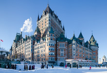 Chateau Frontenac In Winter