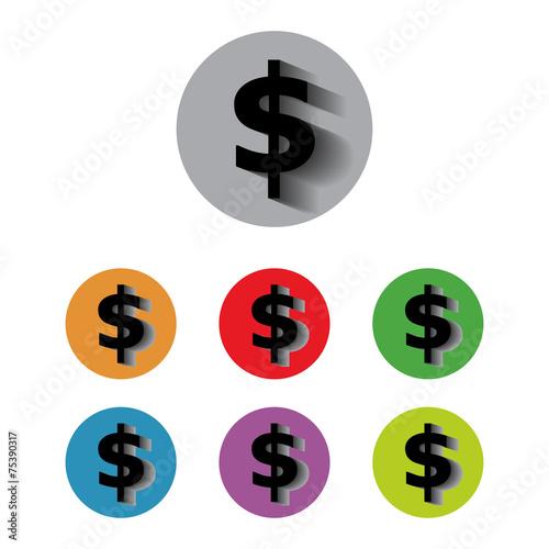 currency exchange converter money dollars buy this stock vector