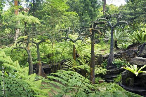 Fotografie, Tablou  prehistoric landscape