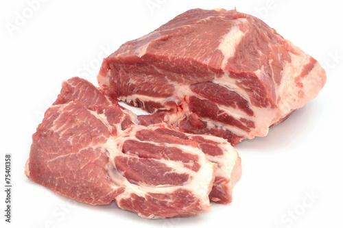 Fototapeta pork neck obraz