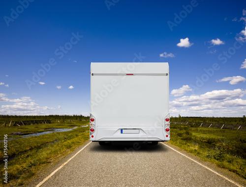 Foto  Reisemobil in Skandianvien