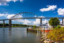 The Chesapeake City Bridge, Over The Chesapeake And Delaware Can