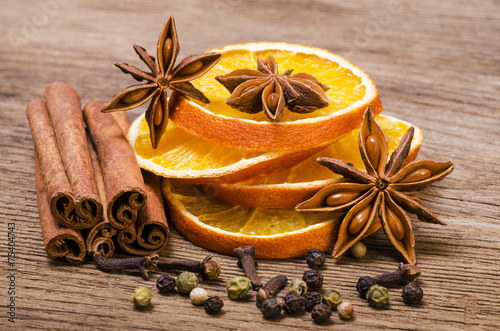Fotografering  spices