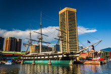 The USS Constellation And Buil...