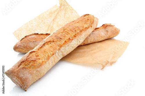 Belles baguettes croustillantes