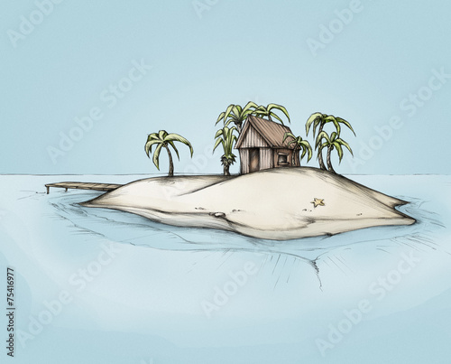 chatka-na-samotnej-wyspie