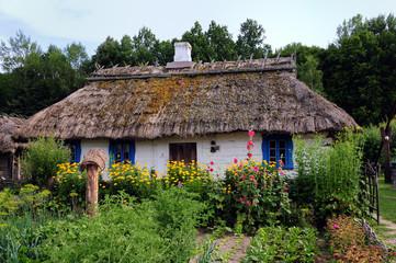 Panel Szklany Do gastronomi Tradycyjna osada wiejska na podlasiu 2