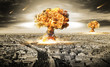canvas print picture - Nuclear War
