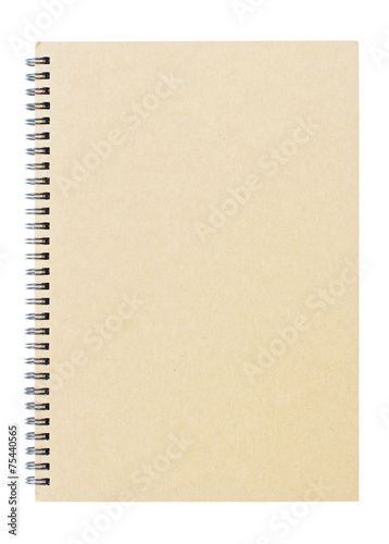 Foto  Brown notebook
