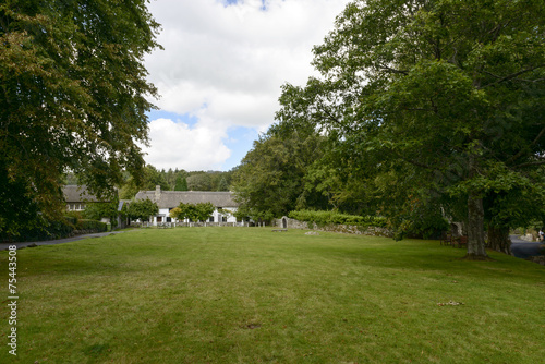 Aluminium Prints Garden lawn at Manaton, Devon