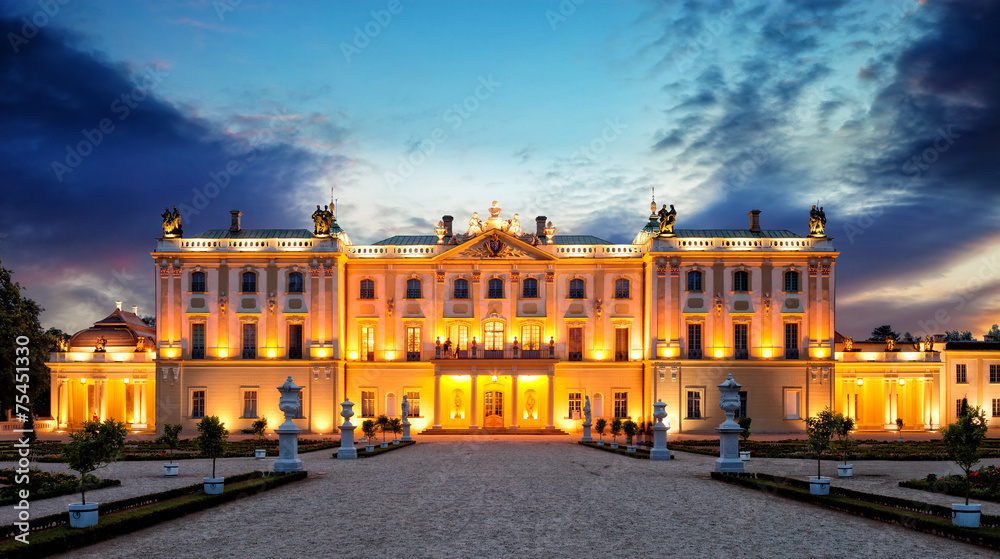 Fototapety, obrazy: Pałac Branickich w Białymstoku Białystok, Polska