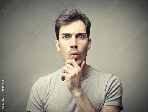 Fotografía  Confused man
