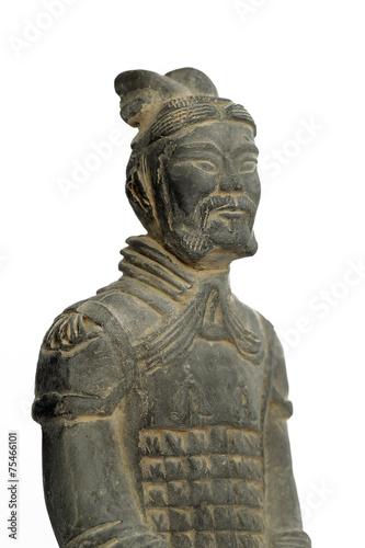 Foto op Plexiglas Xian Terra cotta warrior, isolated